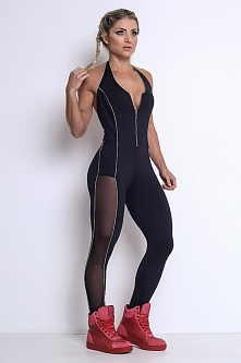 Комбинезон Black Training Jumpsuit